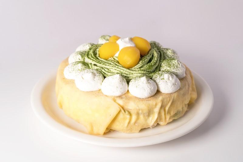 macha-cake